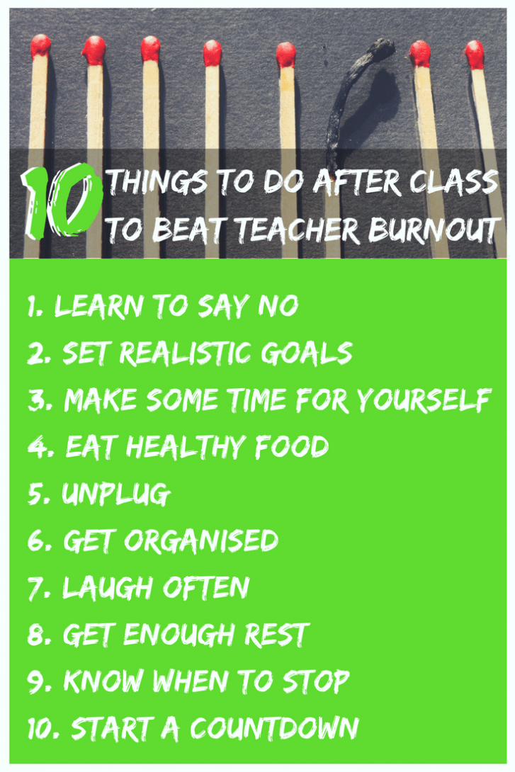 Avoid Burnout Checklist
