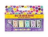 Do A Dot Art! Marker Mini Dots & Doodles Island Bright Colors Markers 6 Pack, The Original Dot Marker