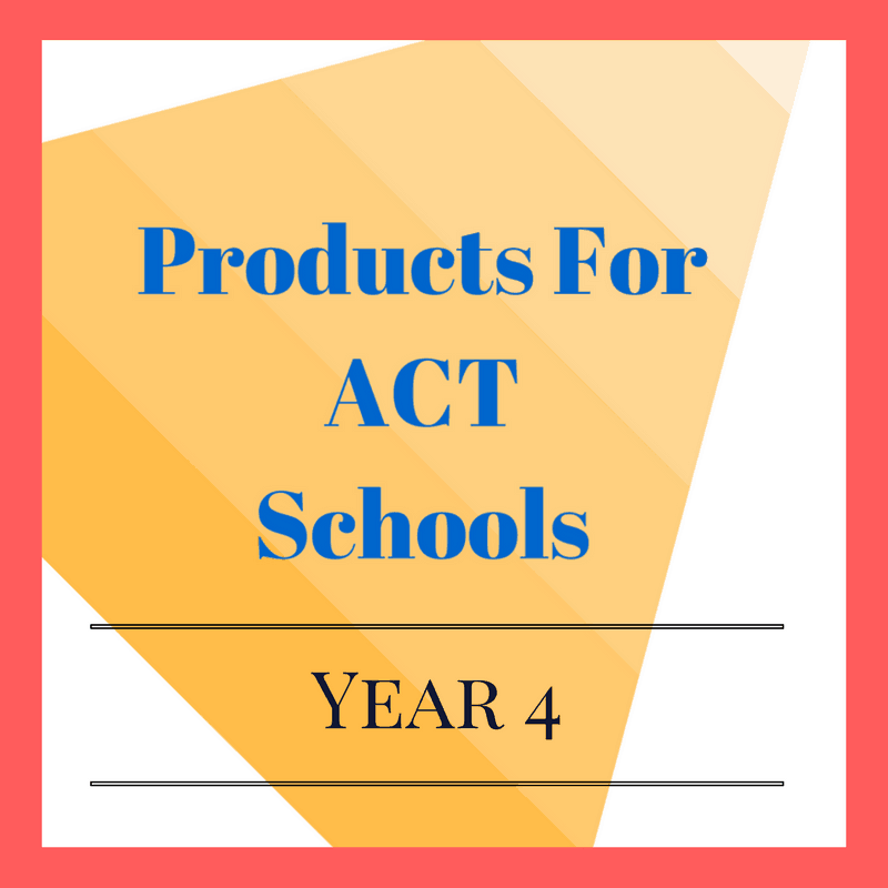 Year 4 ACT