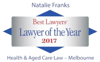 Natalie Franks lawyer of the year 2017
