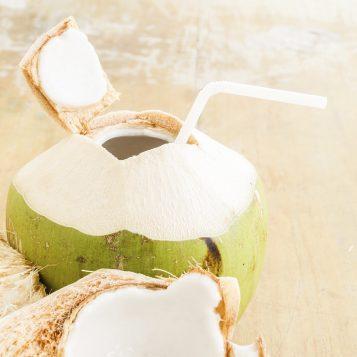 Coconut Fruit Popsicles
