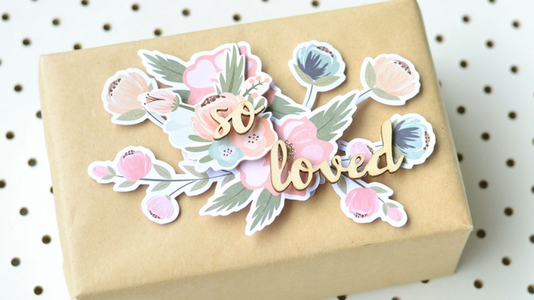 3D Card And Gift Wrap For Valentine's Day
