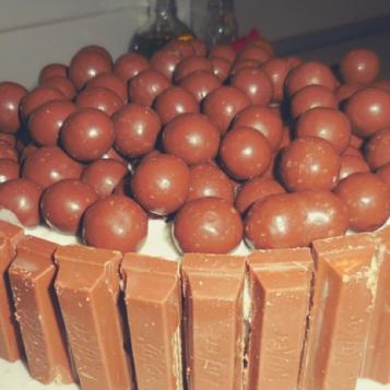 Kit Kat Maltesers Cake Recipe