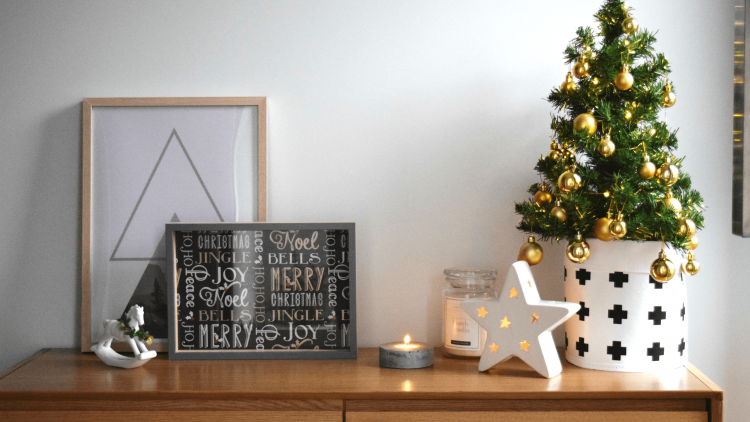 Creating A Scandinavian Style Christmas Entry
