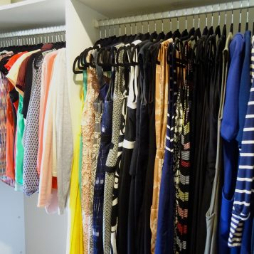 6 Top tips for organising your wardrobe