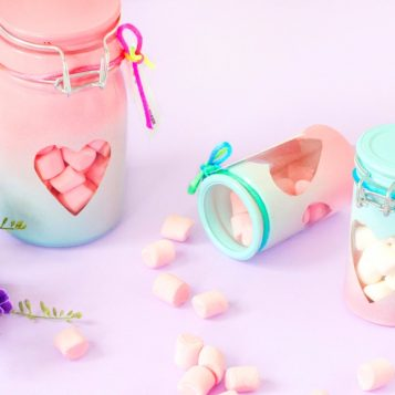 DIY Valentine's Day Treat Jars