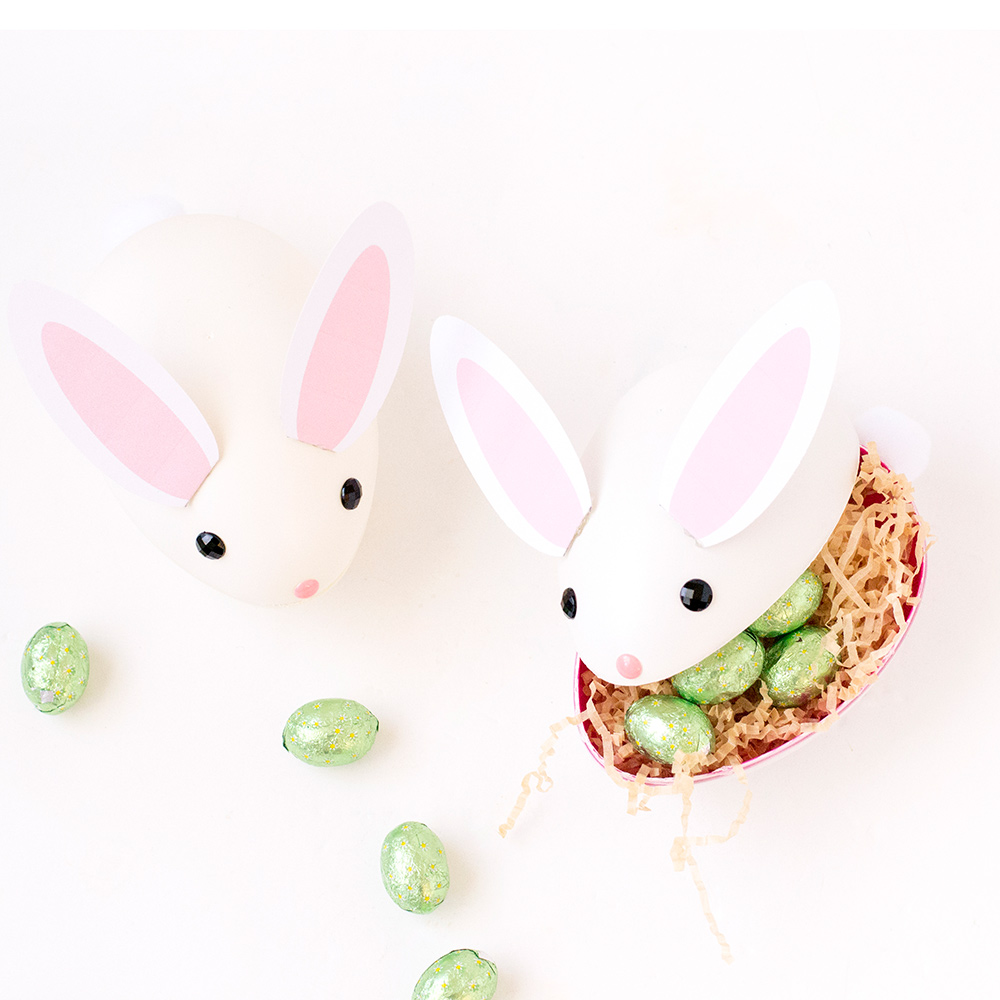 treat filled Easter bunnies