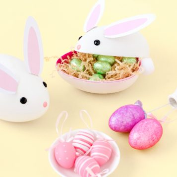 DIY Treat Filled Easter Bunnies