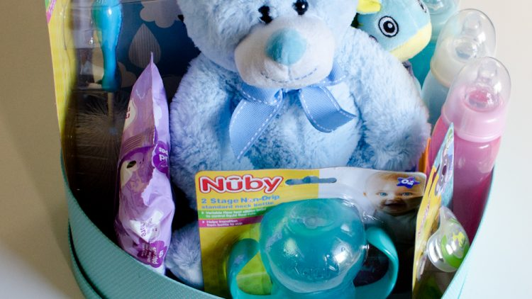 Create a Savvy DIY Baby Hamper