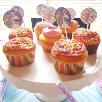 Easy Unicorn Cupcake Recipe