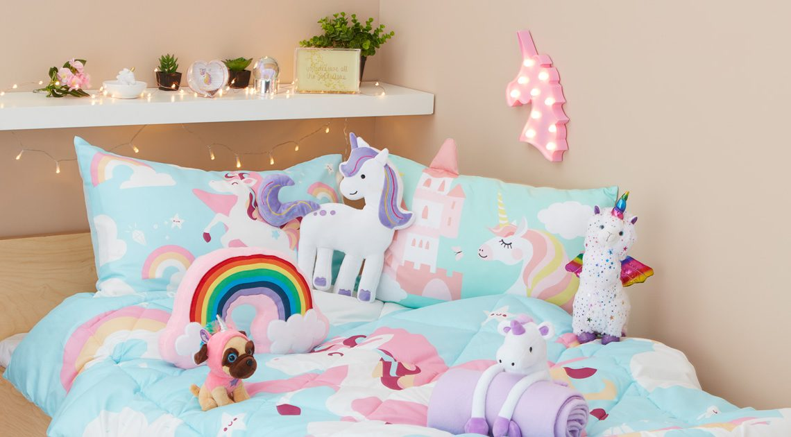 How to create a dreamy Unicorn bedroom
