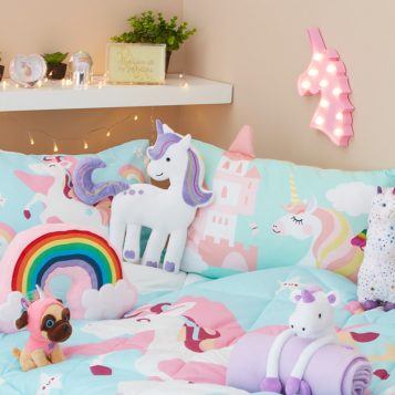 How to create a dreamy Unicorn bedroom