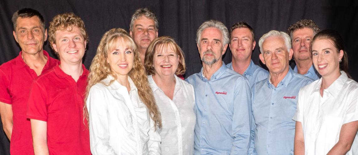 The team at Signarama Dandenong