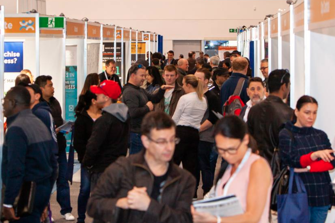 Franchising Expo Crowds