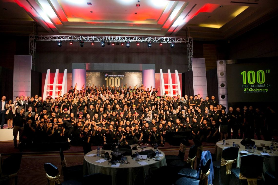 100Th Store Opening Celebrations In Indonesia