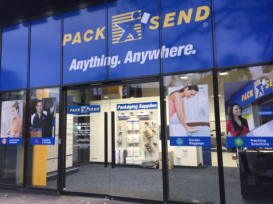 Pack Send Shopfront On Franchise Buyer