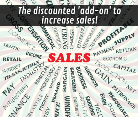 780X660 The Discounted Add On To Increase Sales