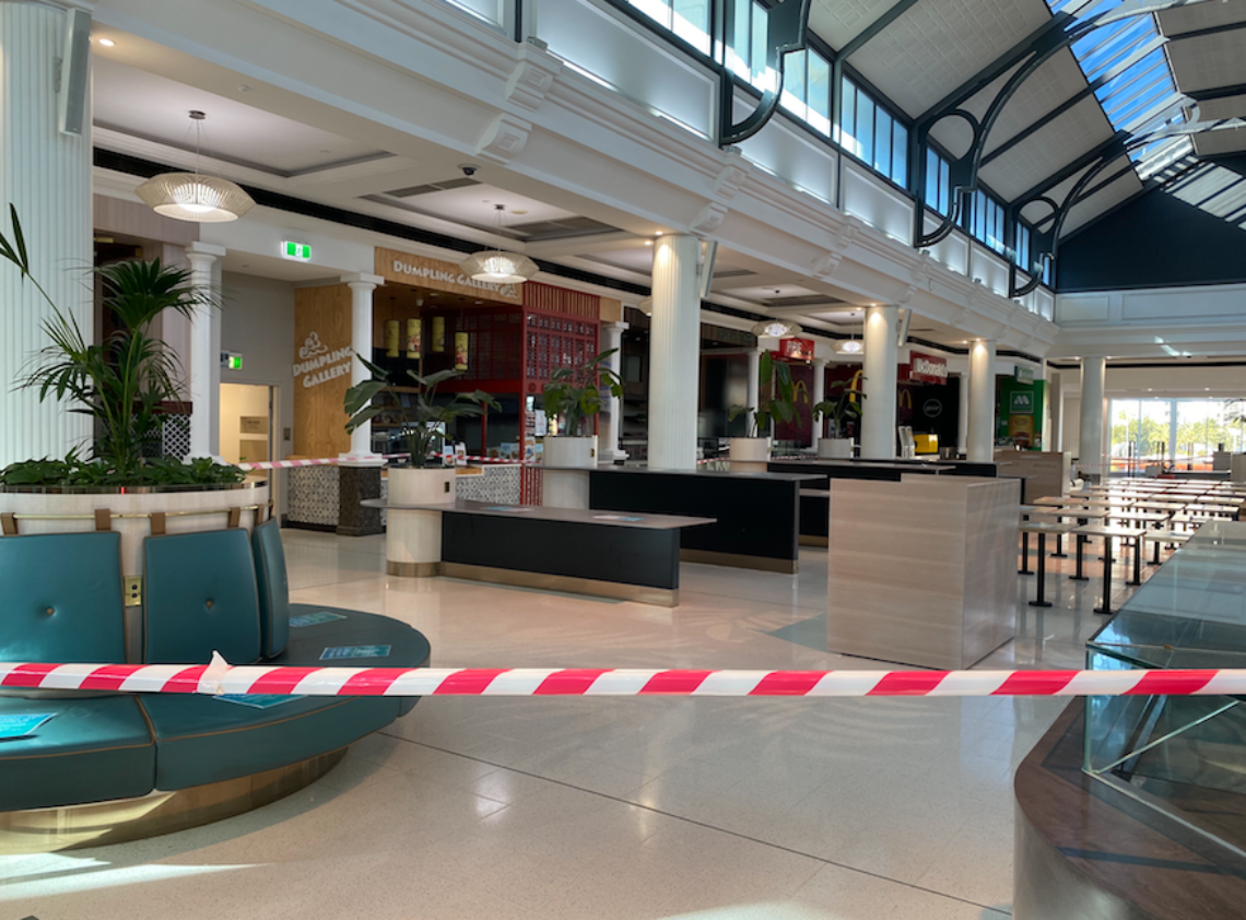Closed Shopping Centres And Food Courst From Covid 19 Franchise Buyer