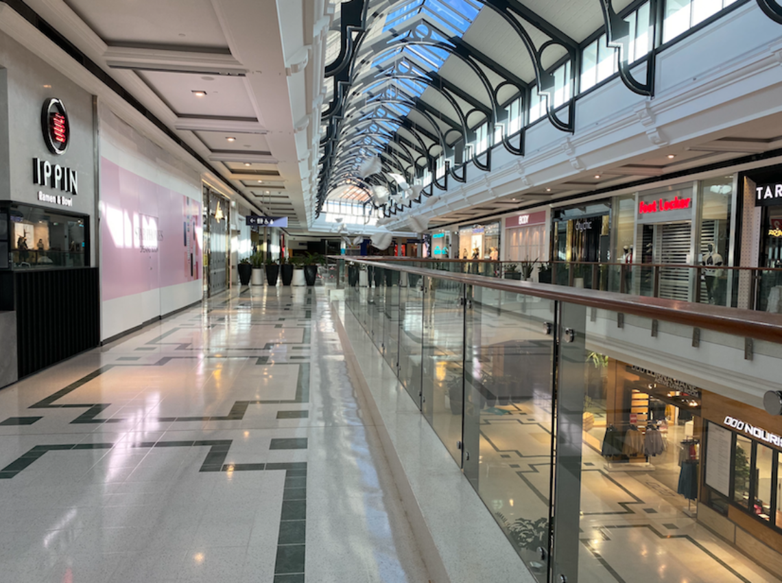 Empty Shopping Centres In Covid 19 On Franchise Buyer