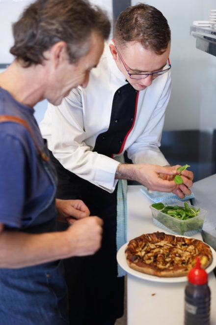 Training In The Hq Kitchen With Qualified Chef