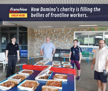 How Domino'S Charity Is Filling The Bellies Of Frontline Workers 780X660