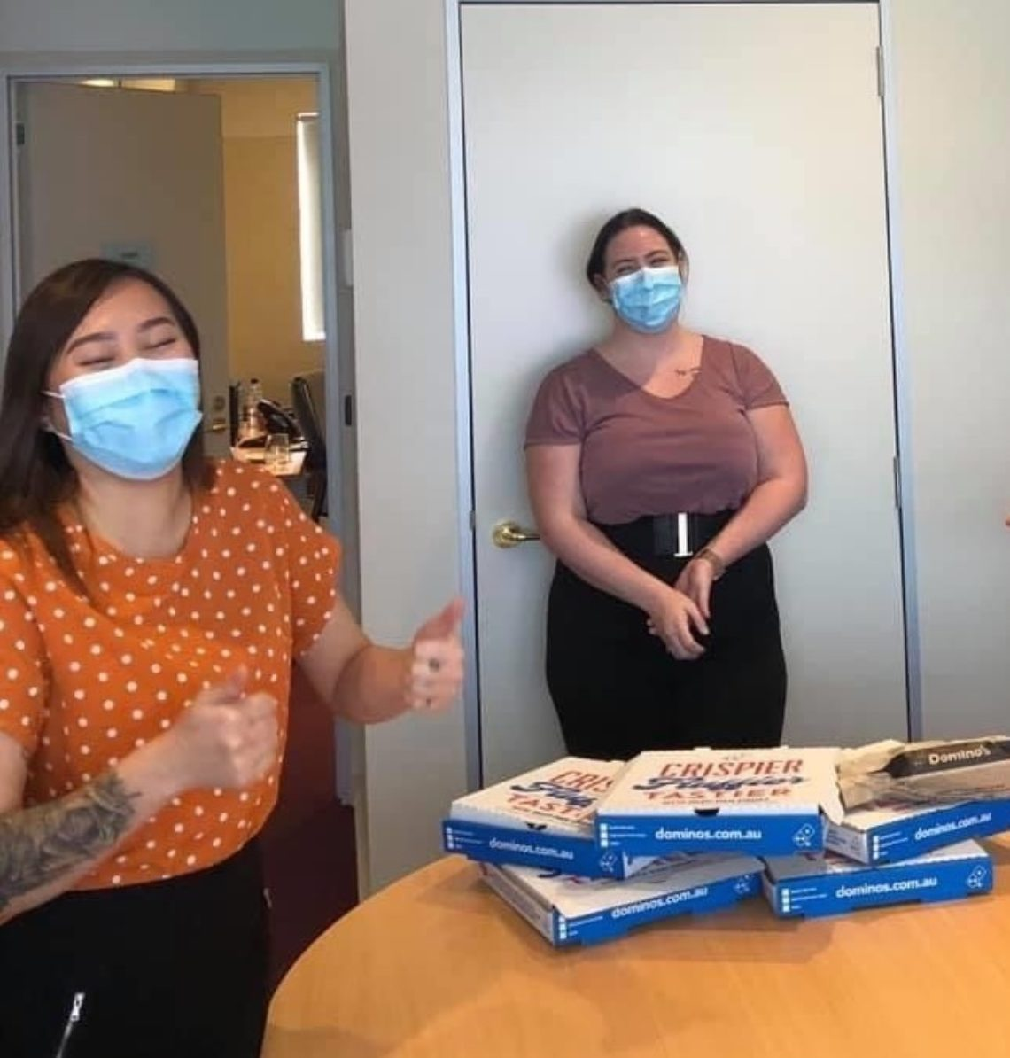 Dominos Donation To Holdsworth Medical Centre Fortitude Valley On Franchise Buyer