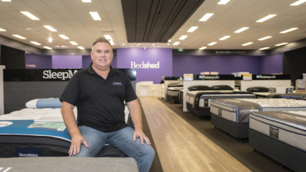 Phill At Robina Bedshed
