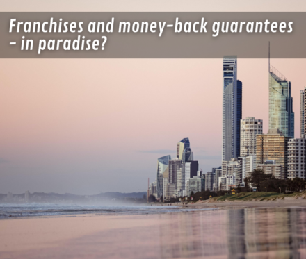780X660 Franchises And Money Back Guarantees In Paradise