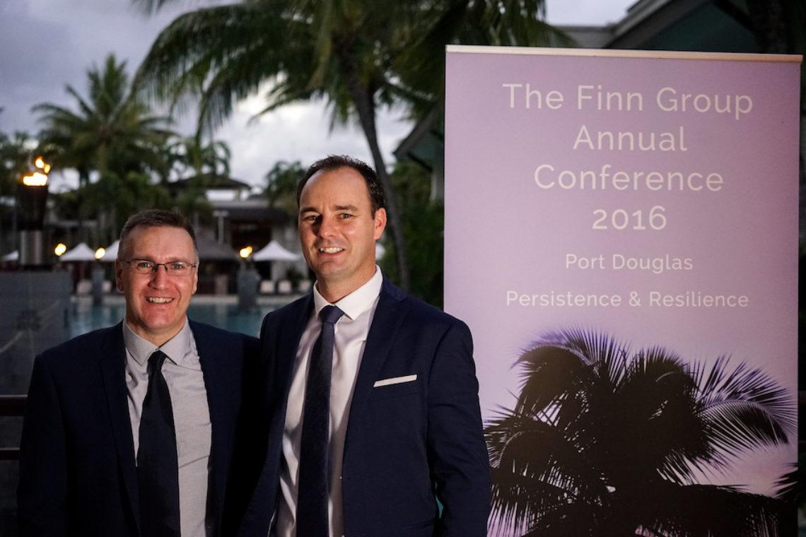 Len Ferguson And Steve Finn Co Founders Of The Finn Group