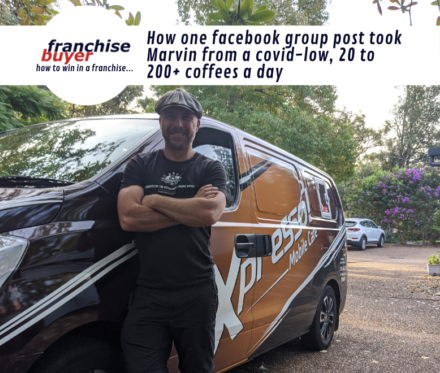 How One Facebook Group Post Took Marvin From A Covid Low 20 To 200 Coffees A Day780X660
