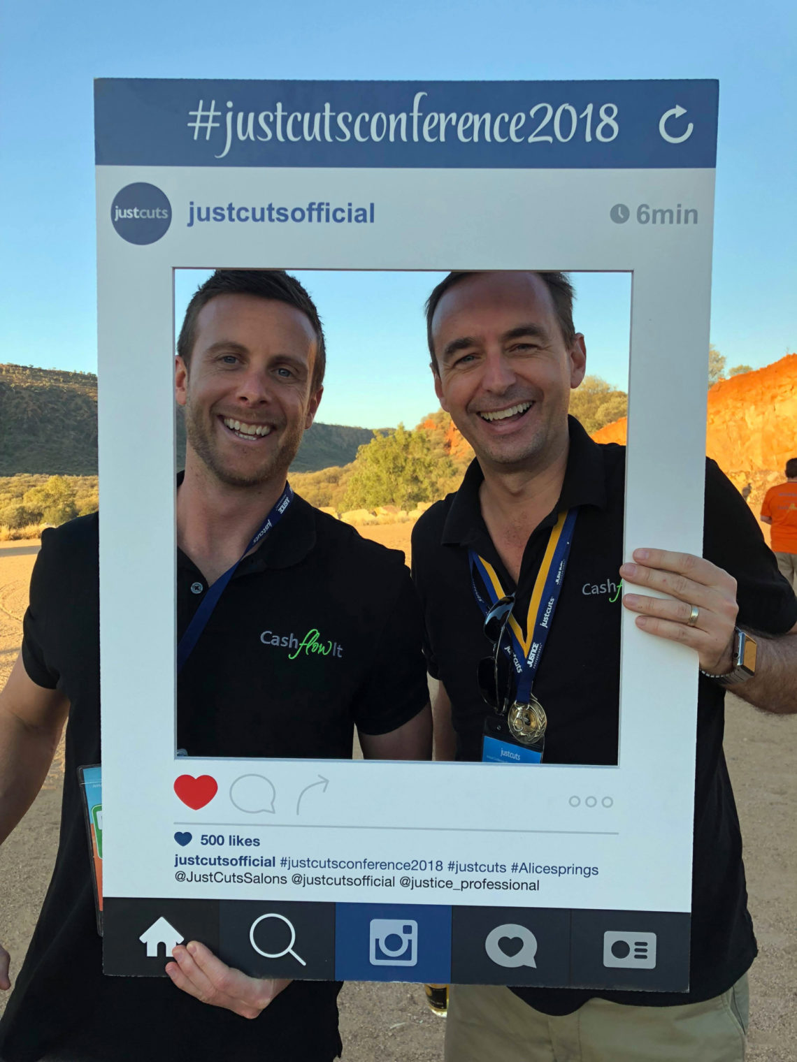 28 Full Page Image James With Dan Toms Gm Supporting Another Recent Franchise Brand Conference