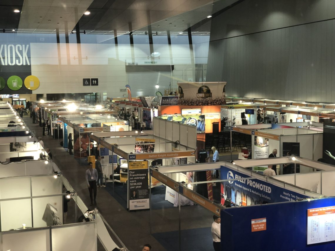 The Cybercillin Franchise Offer Was Launched At The 2018 Melbourne Franchising Expo