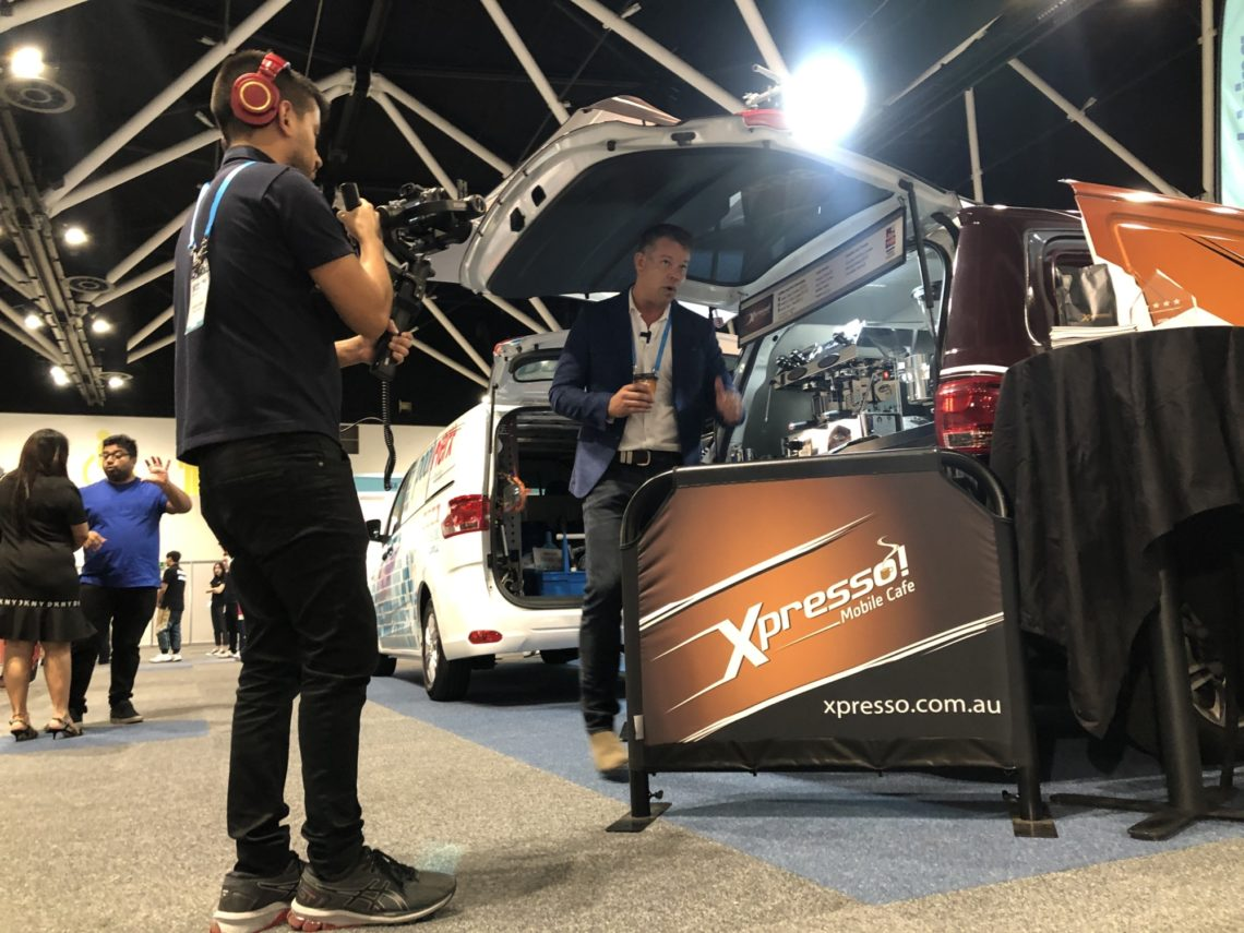 Xpresso Mobile Cafe Jonathan Payne Filming Franchise Buyer