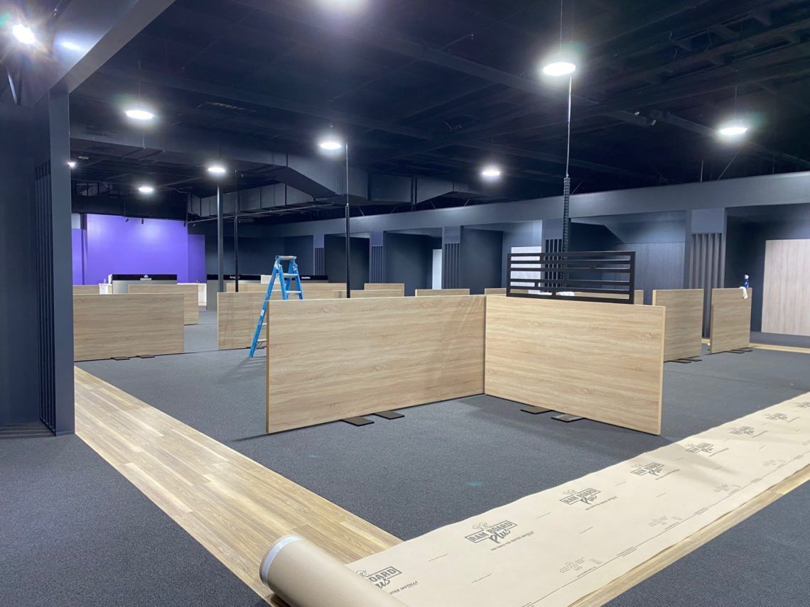 Bedshed Tiuggerah On Franchise Buyer Mid To End Stage Fit Out