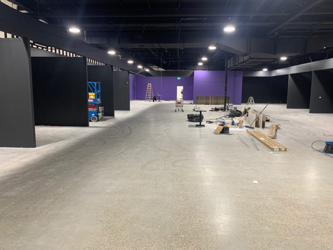 Bedshed Tuggerah On Franchise Buyer Mid Stage Fit Out