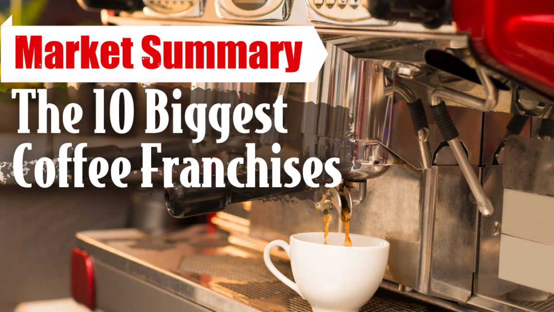 The 10 Biggest Coffee Franchises Franchise Buyer