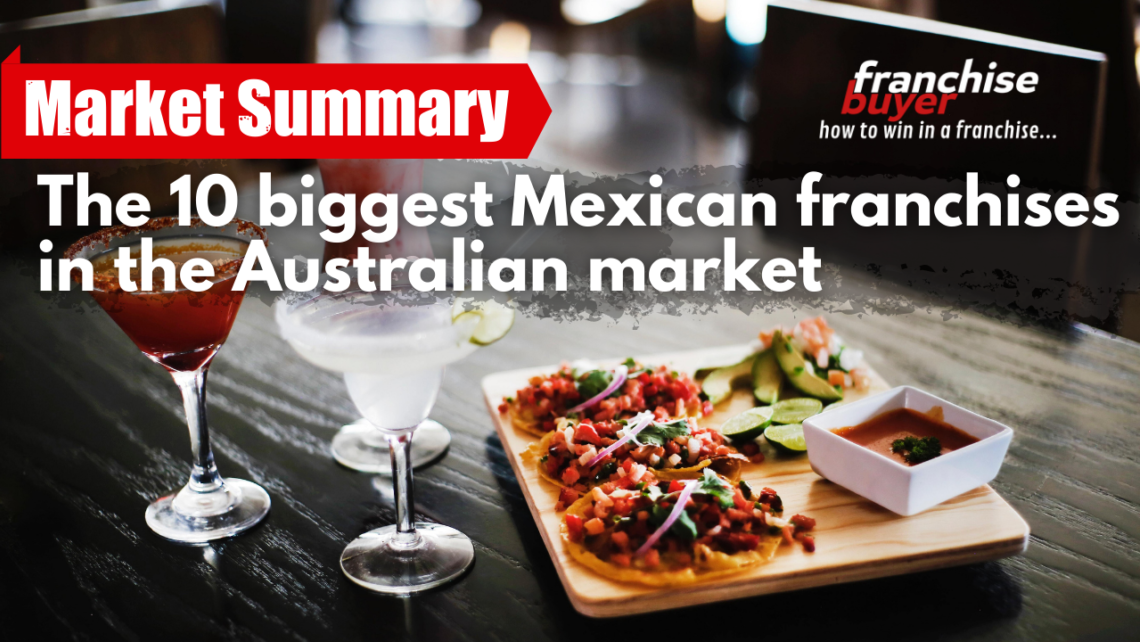 Video Thumb The 10 Biggest Mexican Franchises In The Australian Market