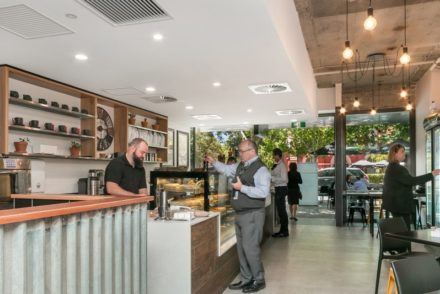 Croissant Express Hay Street Perth Counter Side On