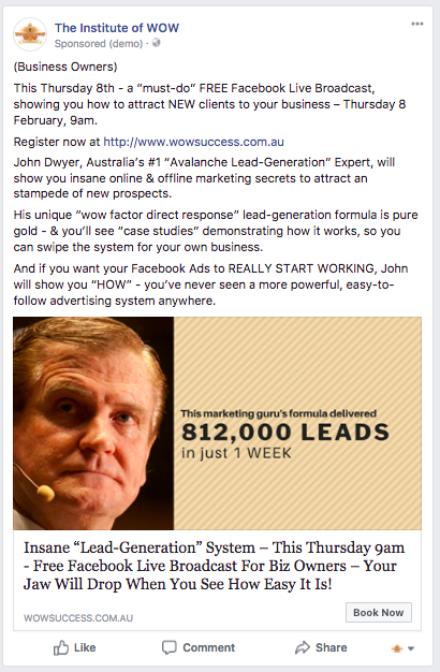 812000 Leads Jd Advert Facebook