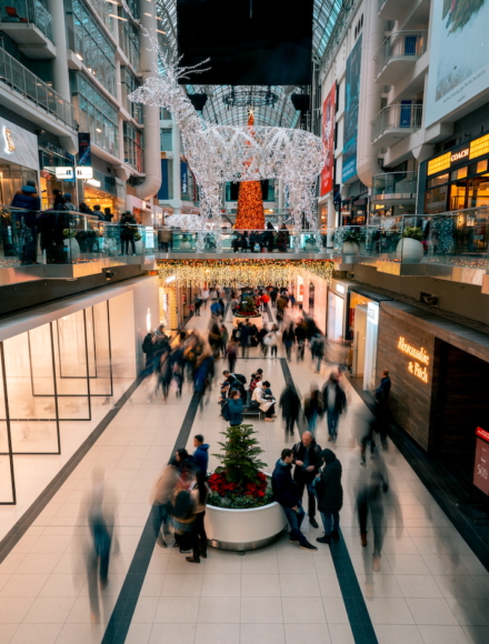 Shopping Mall Corridors On Franchise Buyer With Rdg