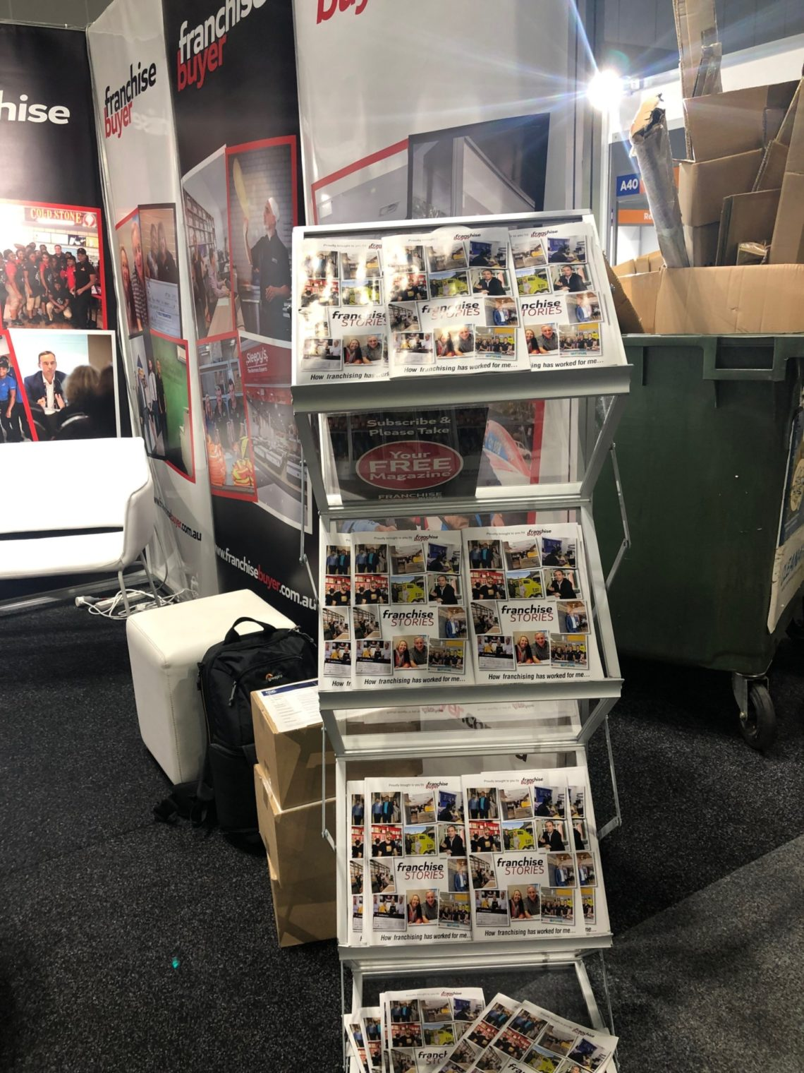 Franchise Stories Publication Sydney Expo Booth 2019