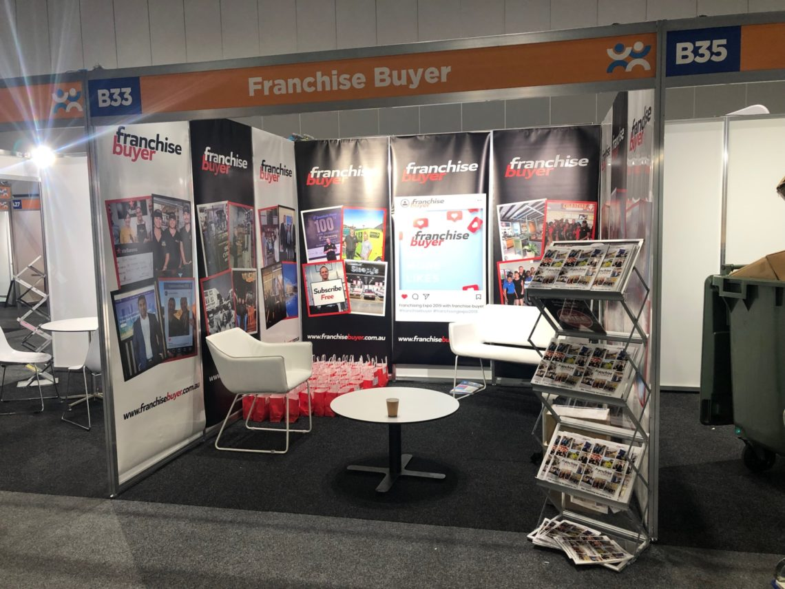 Franchise Buyer Sydney Expo Booth 2019 2