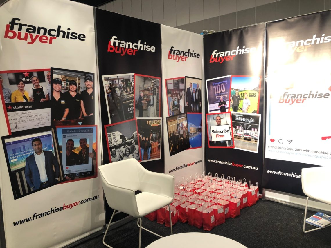 Franchise Buyer Sydney Expo Booth 2019 3