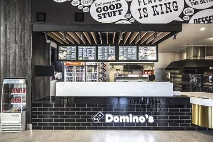 Dominos Pizza On Franchise Buyer Store Externall