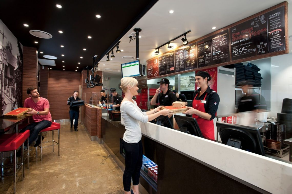 Dominos Pizza On Franchise Buyer Store Internal