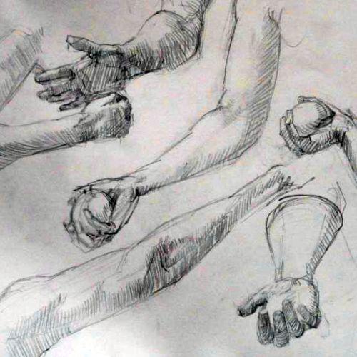 Online | Drawing Anatomy with Monika Diak
