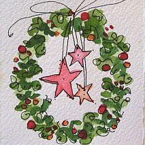 Christmas Magic Art Cards  | 5-8 years