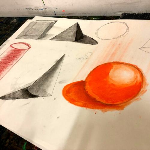 Online | Art for beginners | Mixing it up | Laura Carey