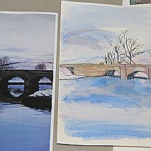 Watercolour   Painting Sky + Water with Susie Murphie