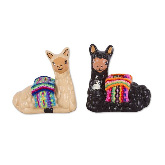 Ceramic Llamas or Donkeys | 5-7 years
